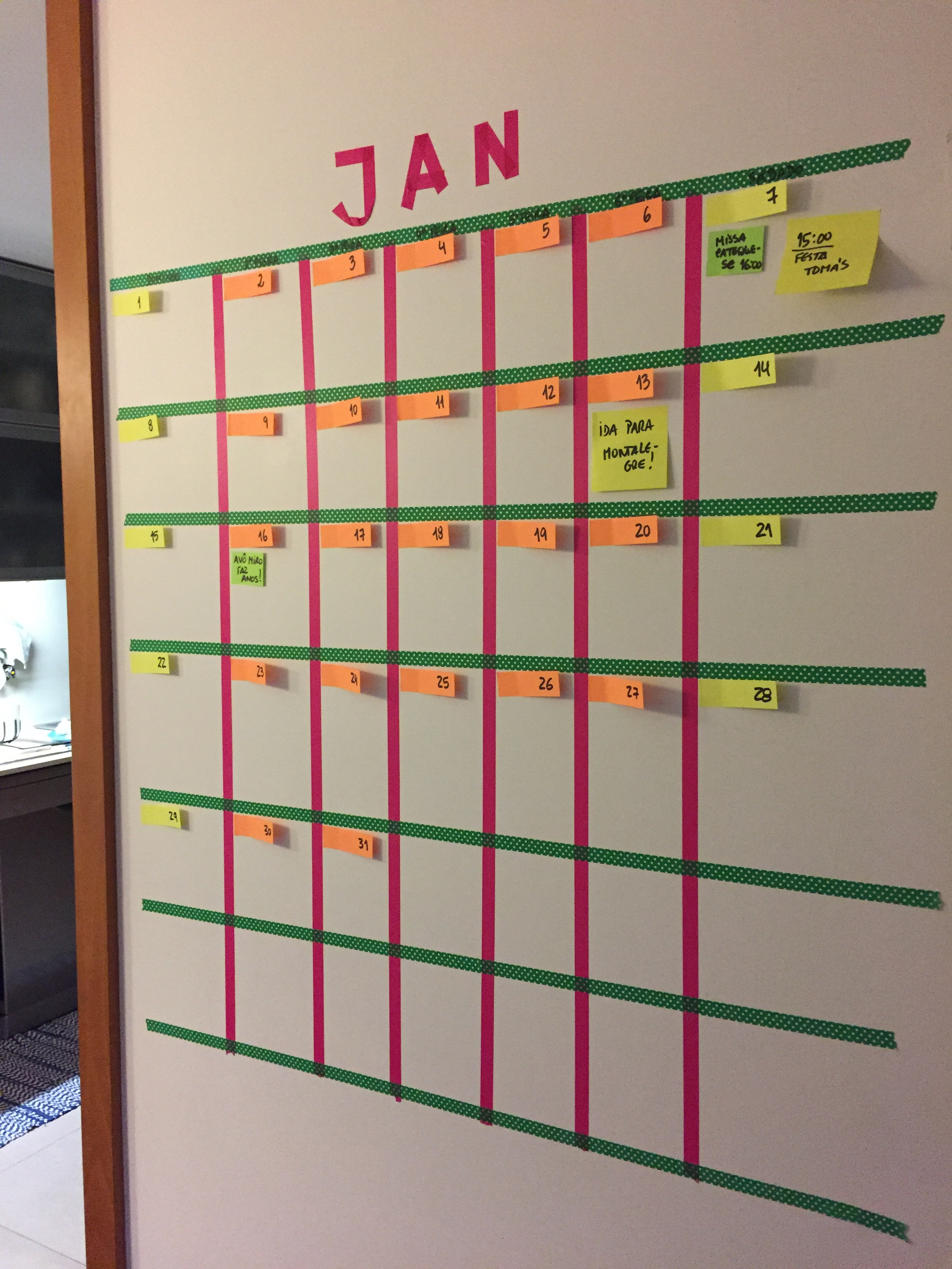 Xeca 39 s crafts think plan craft - Ideas para hacer un calendario ...